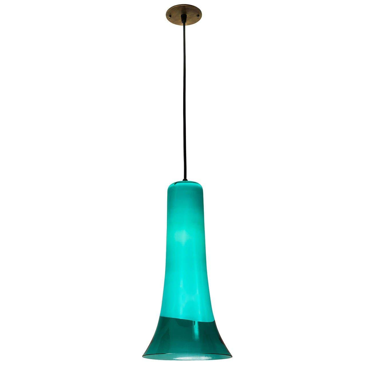 Gino Vistosi Glass Pendant Light