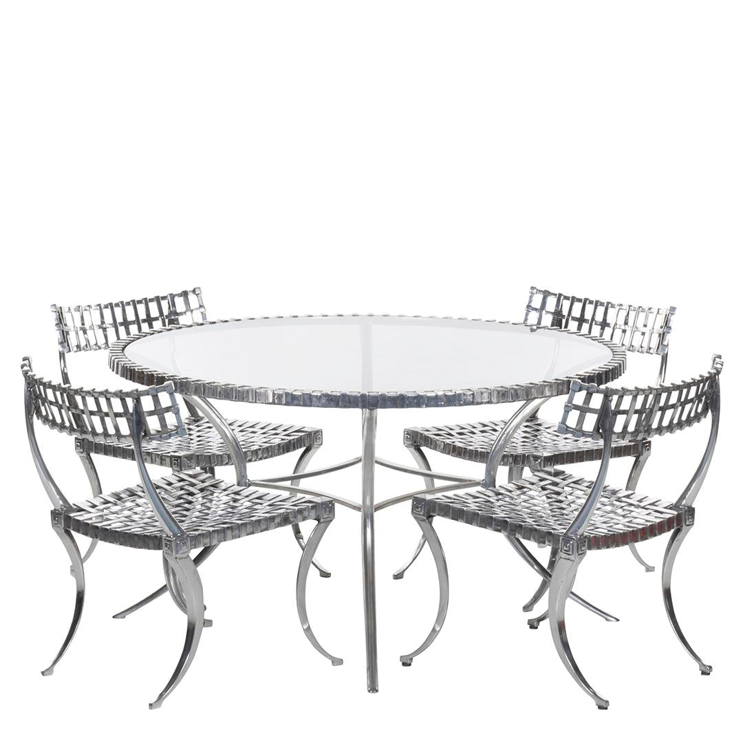 Thinline Klismos Dining Set (5)
