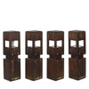 Woodform Redwood Outdoor Lights (4)