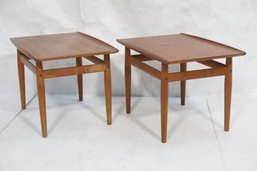 Danish Modern Teak End Tables (2)
