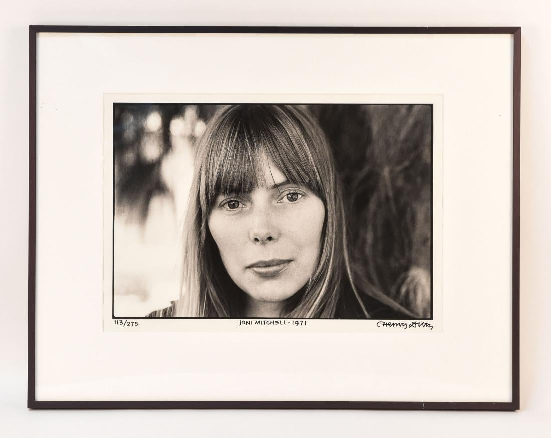 Henry Diltz Photo of Joni Mitchell