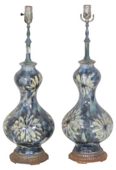 Floral Table Lamps (2)