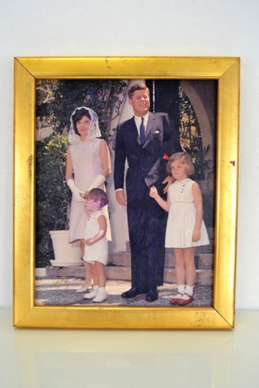 Signed Bob Davidoff Original Photograph of Kennedy's on Canvas
