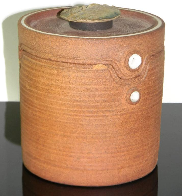 STONEWARE CERAMIC BARREL