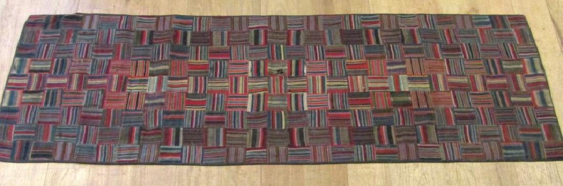 Russian Patchwork Runner Rug