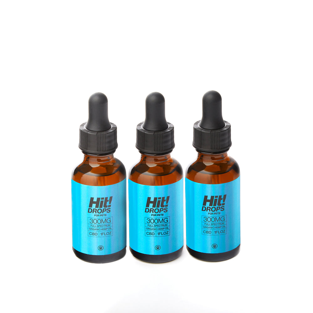 Hit! Drops for Pets Bundle - From Certified Organic Hemp