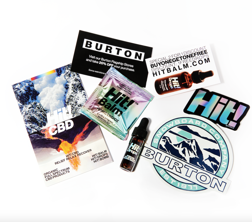 Burton - Hit! Balm - Hit! Drops Recovery Pack