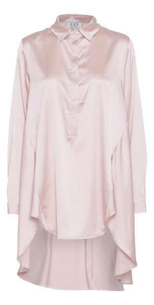 Saga Shirt Dress - Rose