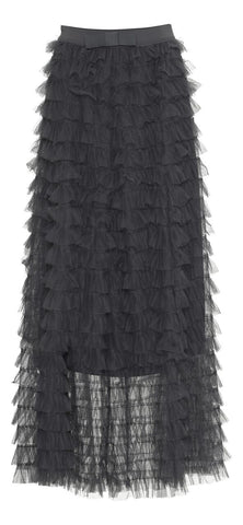 Tulle Skirt - Grey