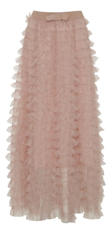 Tulle Skirt - Rose