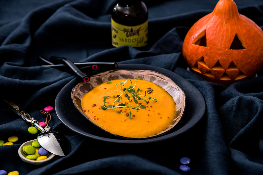 Halloween suppe