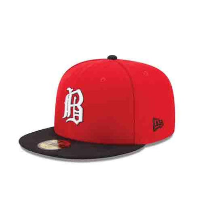 Birmingham Barons Barons Red Alternate Fitted Cap