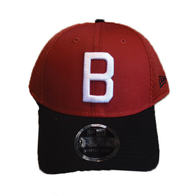 "Barons Red ""Block B"" Hat"