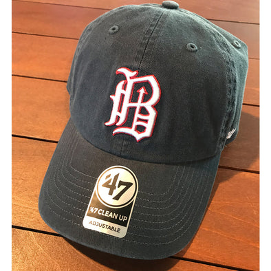 Barons Navy Clean Up Cap