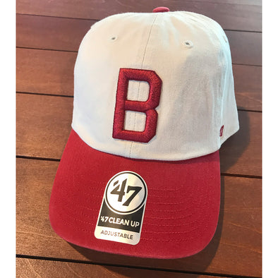 "Red ""Block B"" Cap"