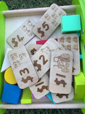 Wooden Play money