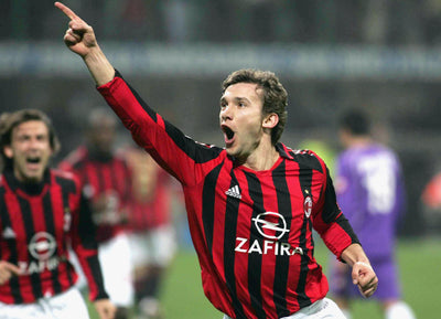 If you like Shevchenko find out all about the Milan t-shirt he wore