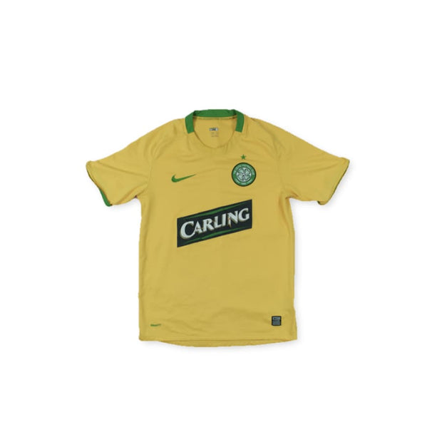 2008-2009 Celtic Glagow CARLING vintage football shirt