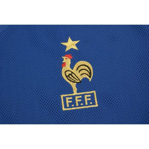 2002-2003 France home retro football shirt ZIDANE#10