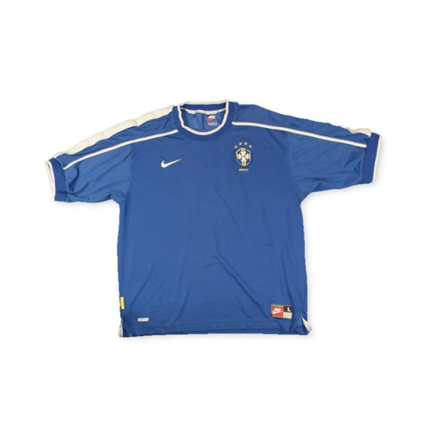 1998 Brazil away vintage football shirt