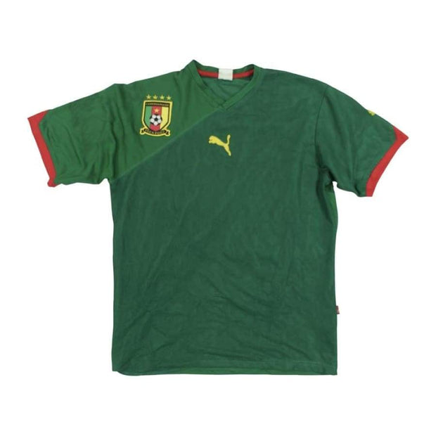 Cameroon vintage football shirt