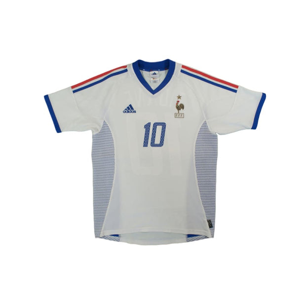 2002-2003 France Away vintage football shirt ZIDANE #10