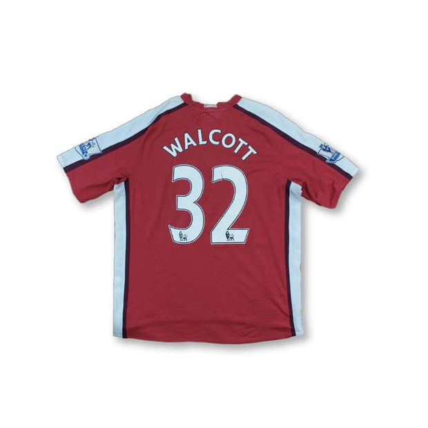 2008-2009 Arsenal vintage football shirt #32 WALCOTT