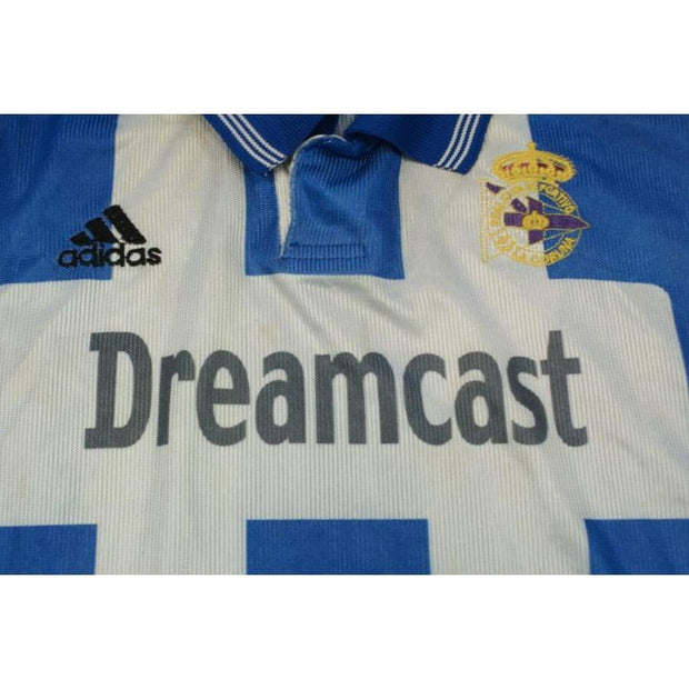2000's Deportivo La Corogne Home vintage football shirt