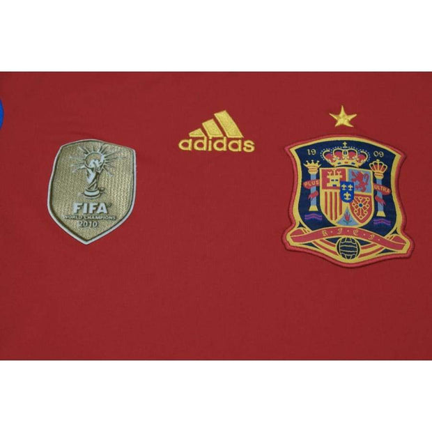 2011-2012 Spain vintage football shirt home