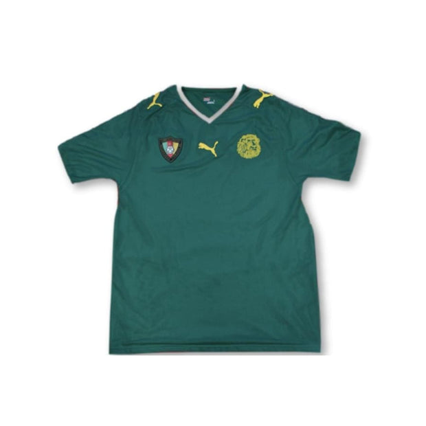 2008-2009 Cameroon home vintage football shirt