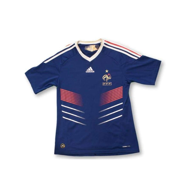 2010-2011 France home retro football jersey #7 CYPRIEN