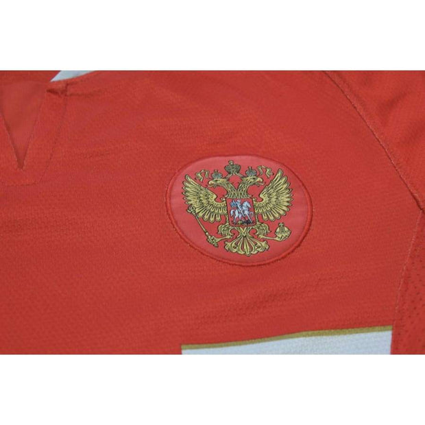 2000s Russia home retro football jersey