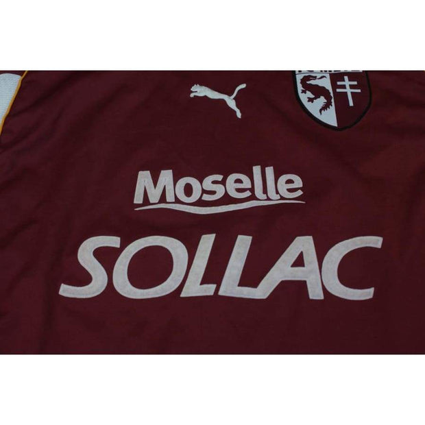 2002-2003 FC Metz Home vintage football shirt