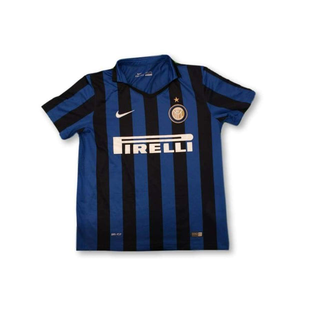 2015-2016 Inter Milan home vintage football shirt #10 JOVETIC