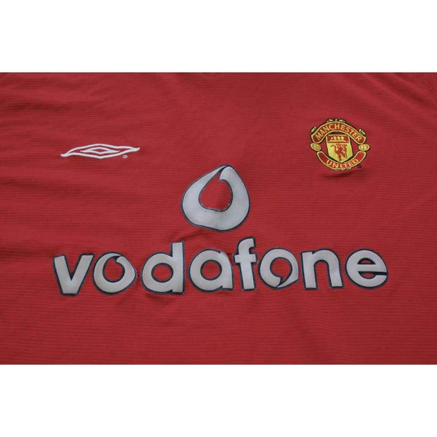 2000-2001 Manchester United home vintage football shirt