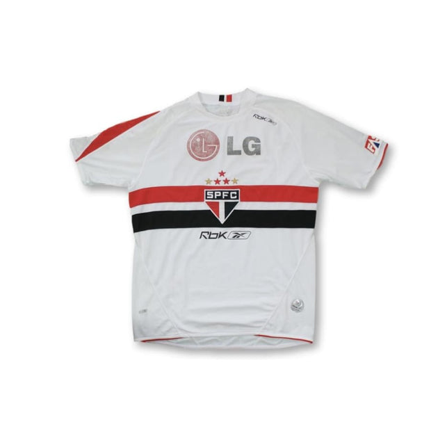 2008-2009 Sao Paulo FC Home vintage football shirt N°10