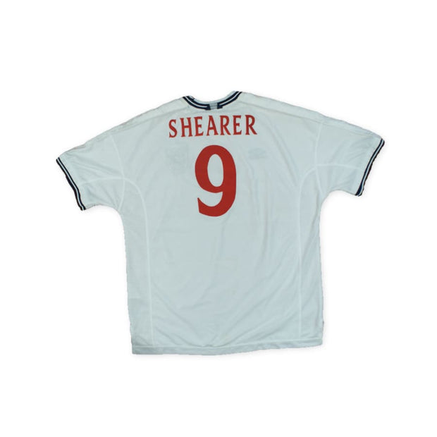 1999-2000 England vintage football shirt #9 SHEARER