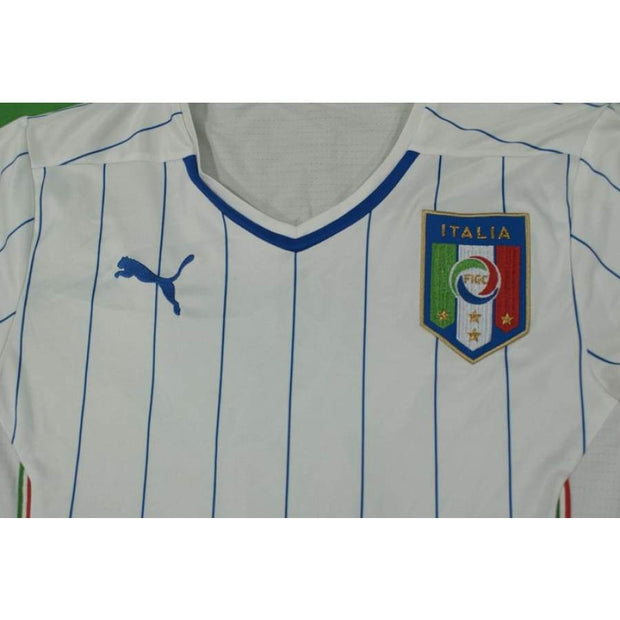2014-2015 Italy vintage football shirt #10 GIOVINCO