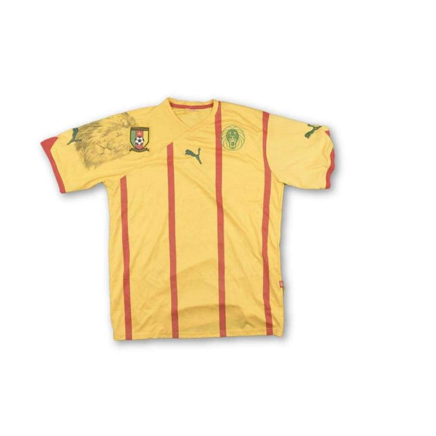 2010-2011 Cameroon vintage football shirt