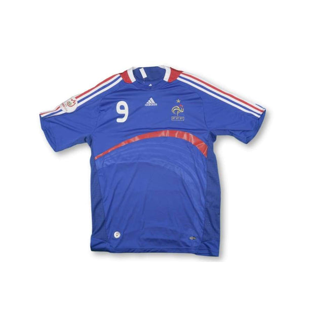 2008-2009 France vintage football shirt #9 BENZEMA