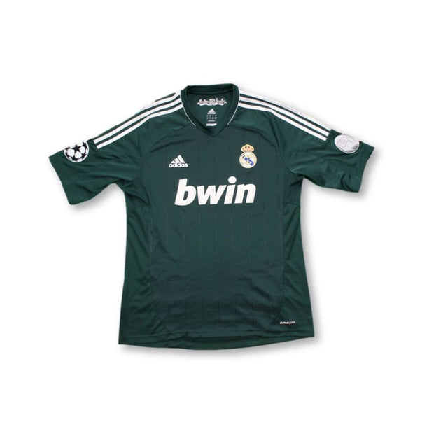 2012-2013 Real Madrid CF Europe retro football shirt