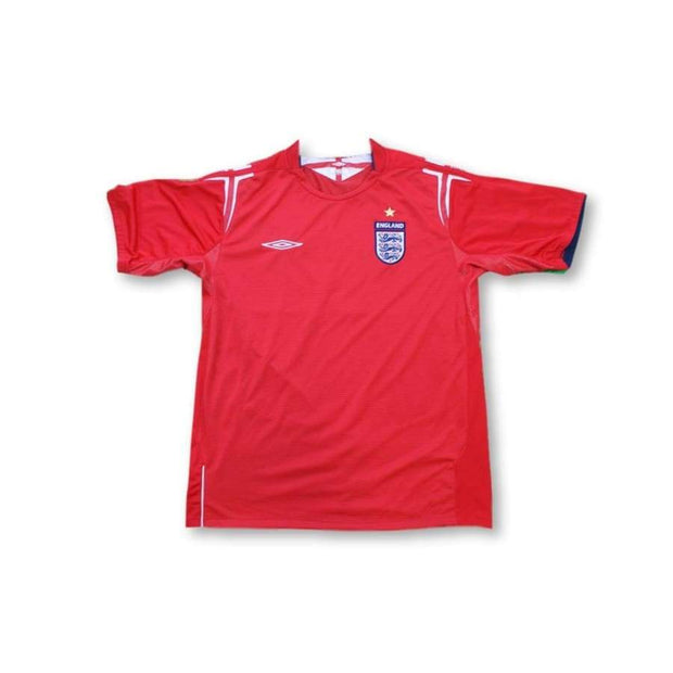 2004-2005 England away football shirt