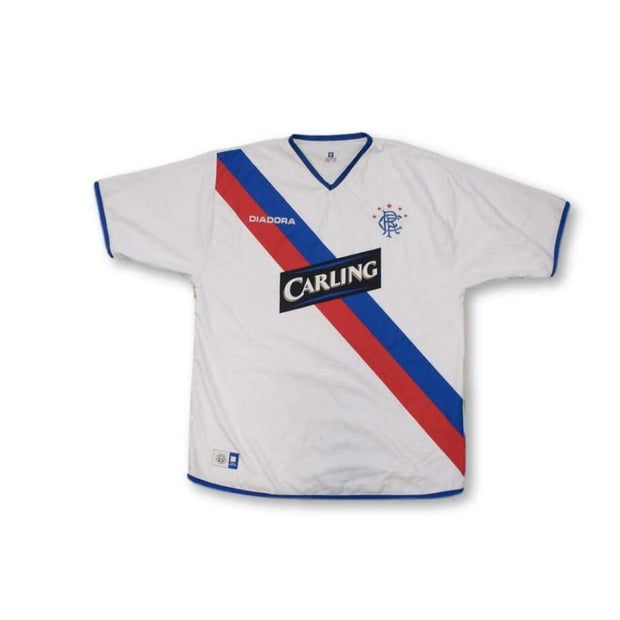2004-2005 Glasgow Rangers away vintage football shirt