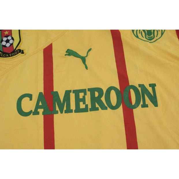 2010-2011 Cameroon tank top vintage football shirt