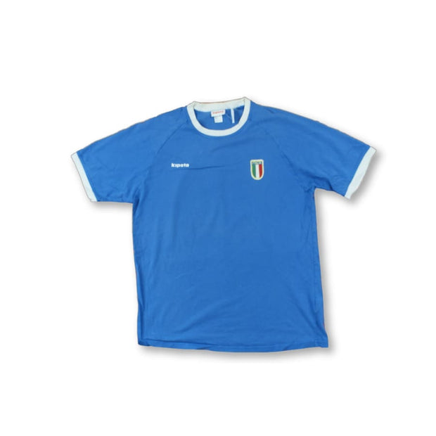Italy fan vintage football shirt