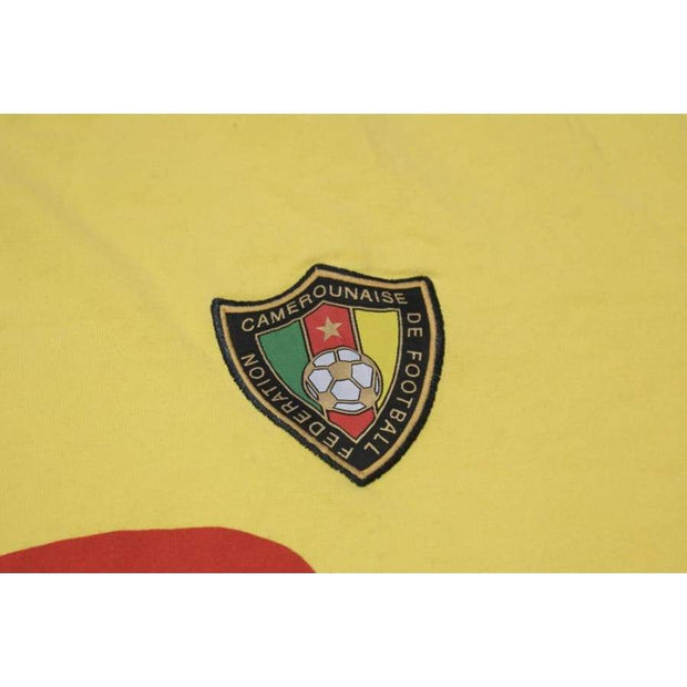 Cameroon fan vintage football shirt