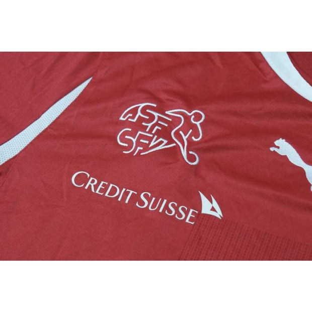 2010-2011 Switzerland vintage football shirt