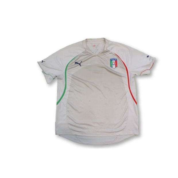 2010 Italy away vintage football jersey