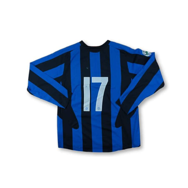 2005-2006 Inter Milan vintage football shirt #17