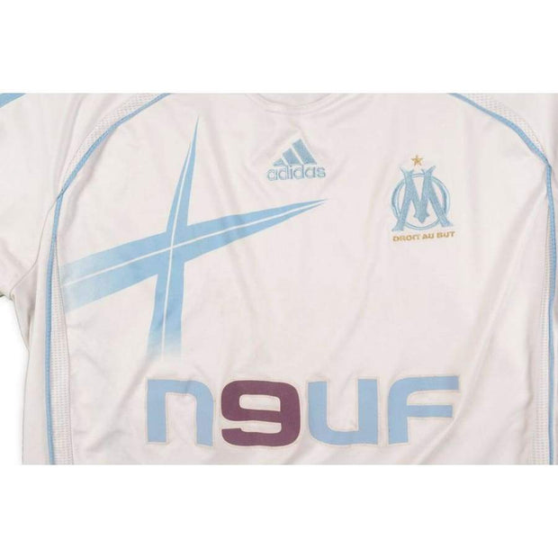 2006-2007 Olympique Marseille classic football shirt